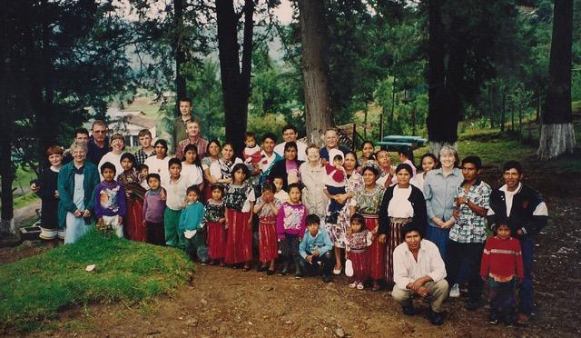 Decorah United Methodist delegation to Nebaj, circa 1999